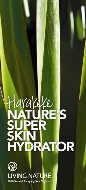 """Harakeke - Một trong những thành phần """"hero"""" của Living Nature"""