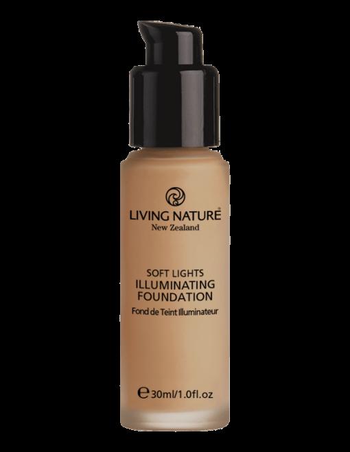 Kem nền hiệu ứng sáng Illuminating Foundation - Dawn Glow chính hãng Living Nature