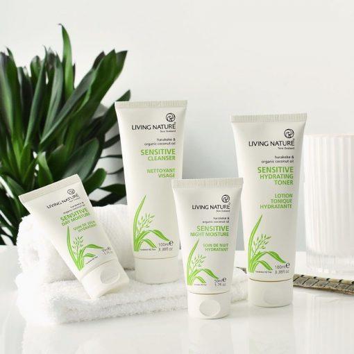 Chăm sóc da nhạy cảm Living Nature Sensitive Skin