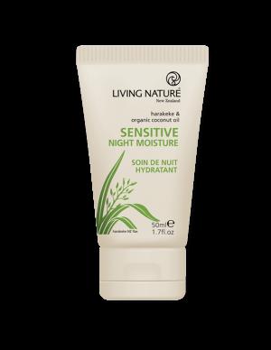 Kem giữ ẩm ban đêm cho da nhạy cảm Sensitive Night Moisture chính hãng Living Nature