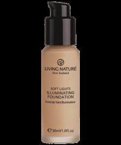 Kem nền tự nhiên hiệu ứng sáng Illuminating Foundation - Dawn Glow chính hãng Living Nature