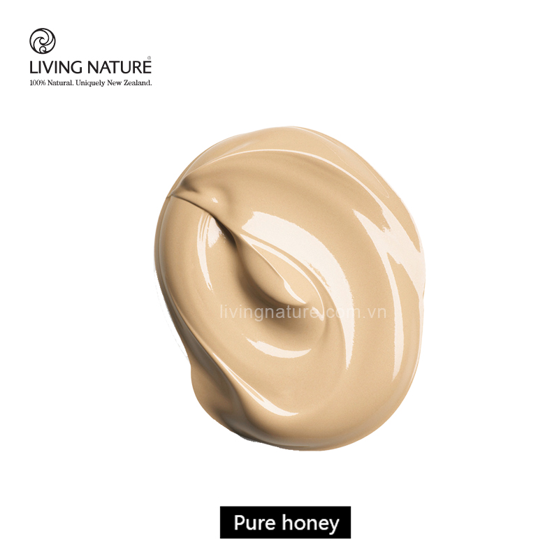 Kem nền tự nhiên Living Nature Pure Honey