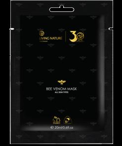 Bee Venom Mask của Living Nature là một phần mở rộng cho dòng sản phẩm cân bằng độ pH