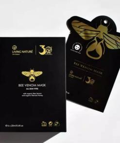 Mặt nạ nọc ong Living Nature Bee Venom Mask 1