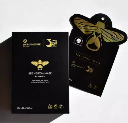 Mặt nạ nọc ong Living Nature Bee Venom Mask 1