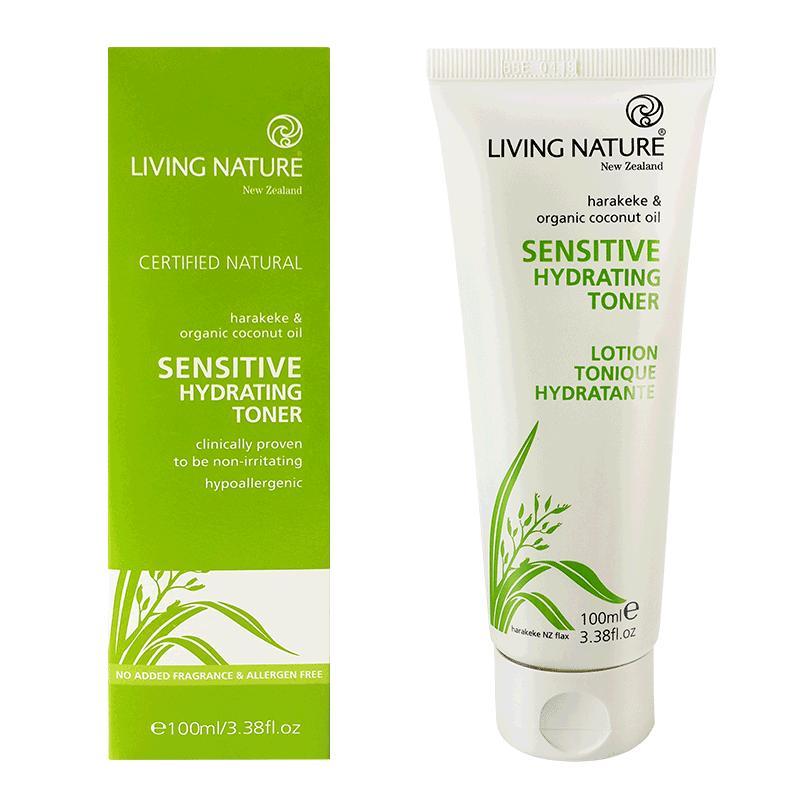 Living Nature Sensitive Hydrating Toner 4