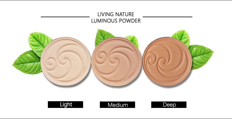 Phấn phủ Living Nature Luminous Pressed Powder 1