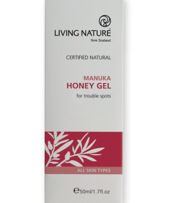 Gel trị mụn Living Nature Manuka Honey Gel 50ml