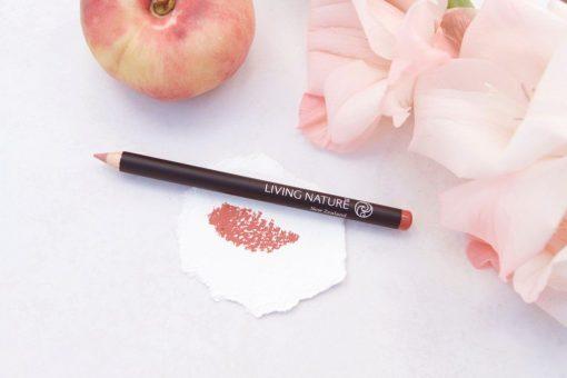 Chì kẻ môi Living Nature Lip Pencil - Morning Sun 6