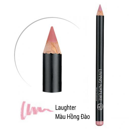 Chì kẻ môi Living Nature Lip Pencil - Laughter - màu hồng tự nhiên