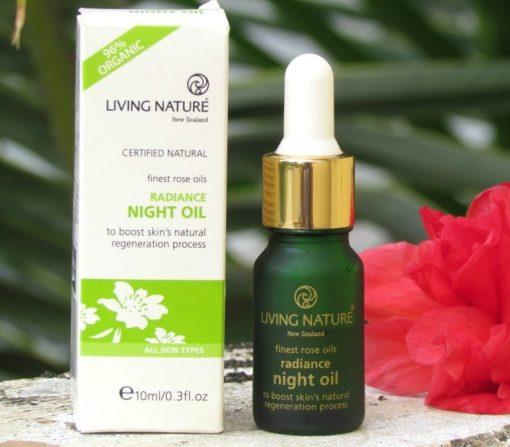 Dầu dưỡng da ban đêm Living Nature Radiance Night Oil 1