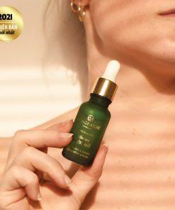 Dầu dưỡng trắng da Living Nature Radiance Night Oil 18ml 4