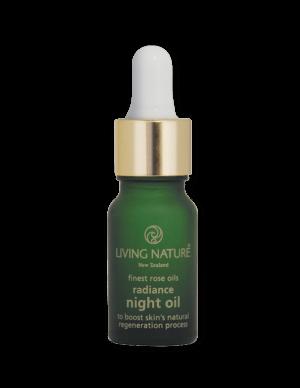 Dầu dưỡng da ban đêm Radiance Night Oil chính hãng Living Nature