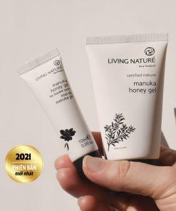 Gel trị mụn Manuka Living Nature Manuka Honey Gel 50ml 8