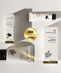 Gel trị mụn Manuka Living Nature Manuka Honey Gel 50ml 9