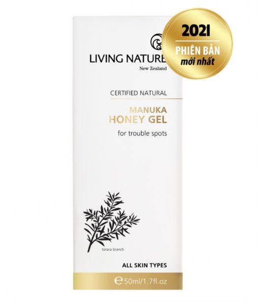 Gel trị mụn Manuka Living Nature Manuka Honey Gel 50ml 2