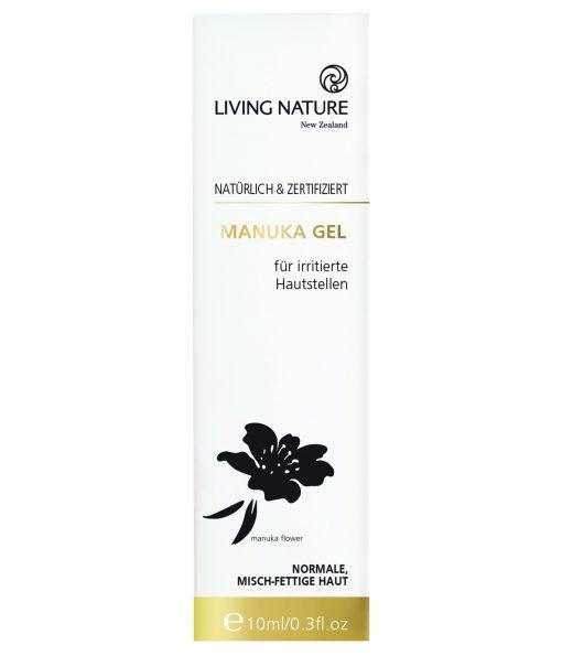 Gel trị mụn Living Nature Manuka Honey Gel 50ml 2021 3