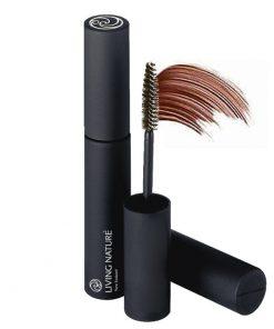 Mascara Living Nature - Thickening Blackened Brown 4