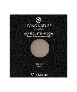 Phấn mắt Glacier (Shimmer - Light Grey) chính hãng Living Nature
