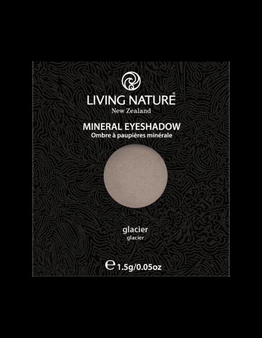 Phấn mắt tự nhiên Living Nature Glacier (Shimmer - Light Grey)