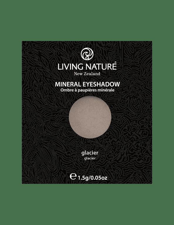 Phấn mắt Glacier (Shimmer - Light Grey) - Living Nature