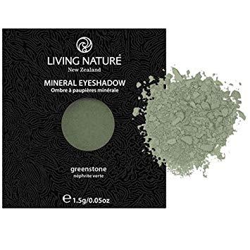Phấn mắt tự nhiên Living Nature Greenstone (Shimmer - Dark Green) 1