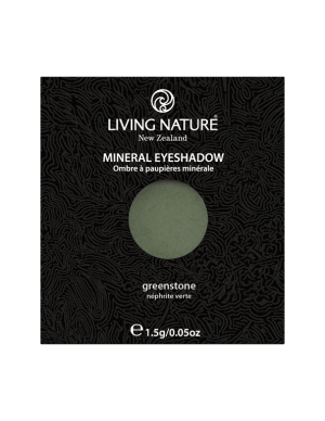 Phấn mắt Greenstone (Shimmer - Dark Green) - Living Nature