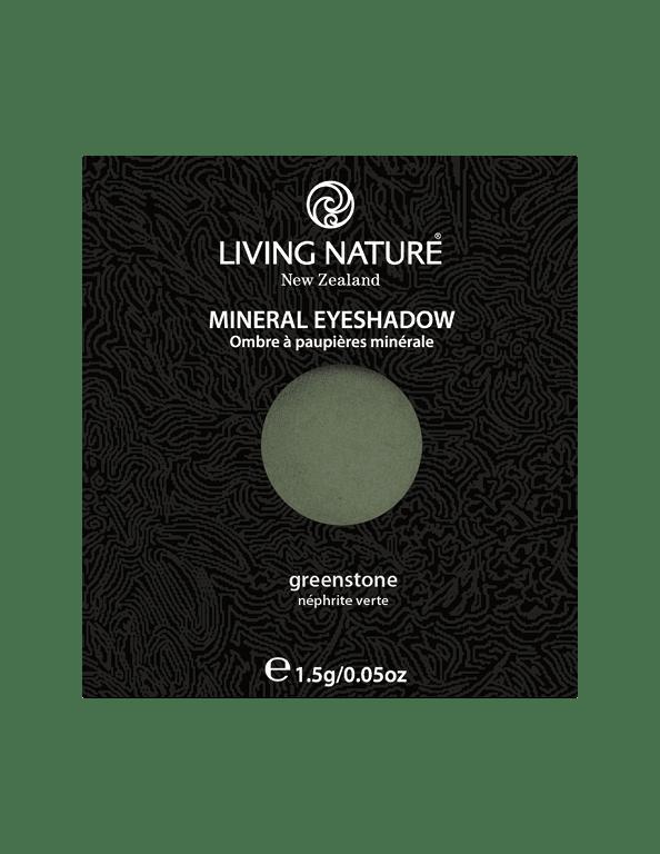 Phấn mắt Greenstone (Shimmer - Dark Green) chính hãng Living Nature