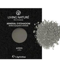 Phấn mắt Living Nature Pebble (Matte - Dark Grey) 1