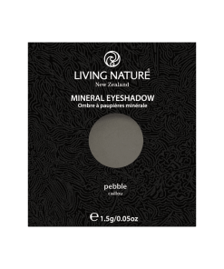 Phấn mắt Living Nature Pebble (Matte - Dark Grey)