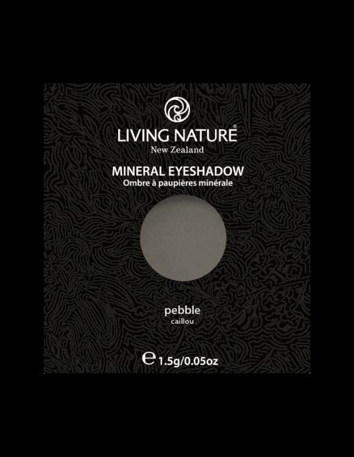 Phấn mắt Living Nature Pebble (Matte - Dark Grey)