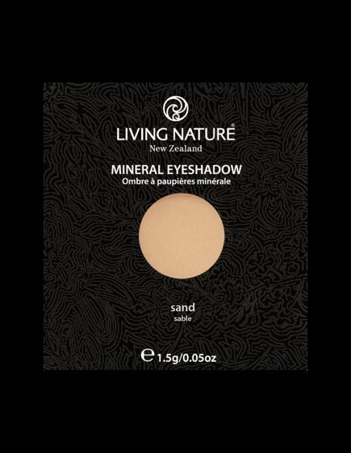 Phấn mắt tự nhiên Living Nature Sand (Matte - Creamy Vanilla White)