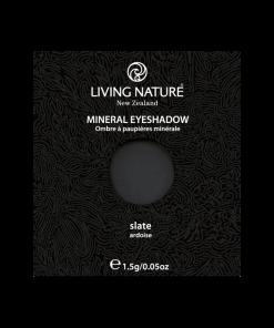 Phấn mắt Slate (Matte - Soft Black) chính hãng Living Nature
