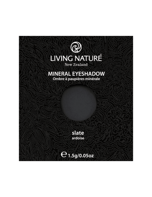 Phấn mắt tự nhiên Living Nature Slate (Matte - Soft Black)