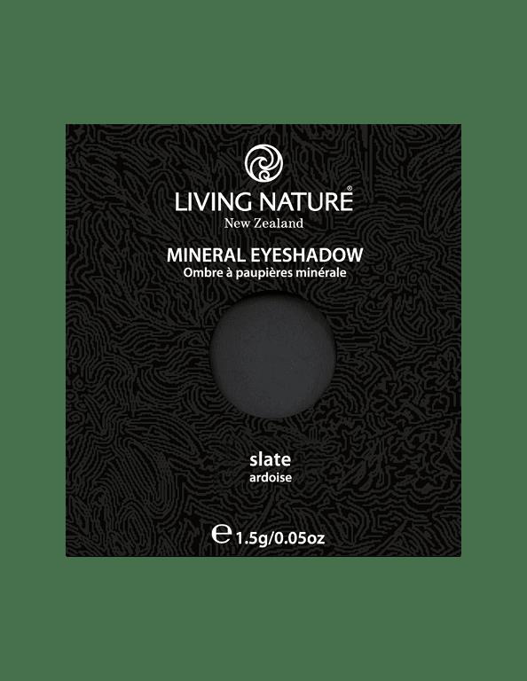 Phấn mắt Slate (Matte - Soft Black) - Living Nature