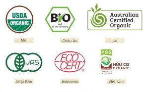 Tiêu chuẩn mỹ phâm organic