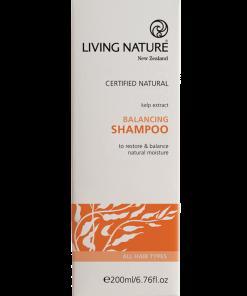 Dầu gội Living Nature Balancing Shampoo cân bằng dầu 1