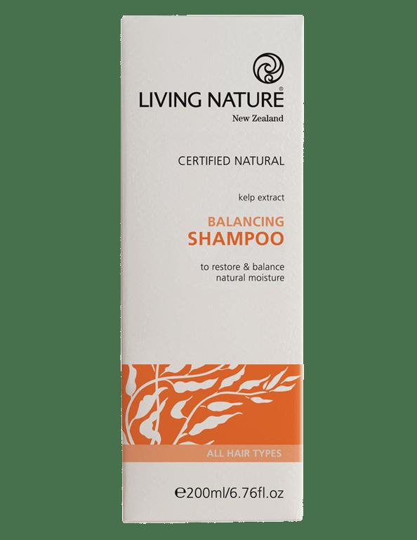 Dầu gội cân bằng dầu Balancing Shampoo - Mỹ phẩm hữu cơ Living Nature.