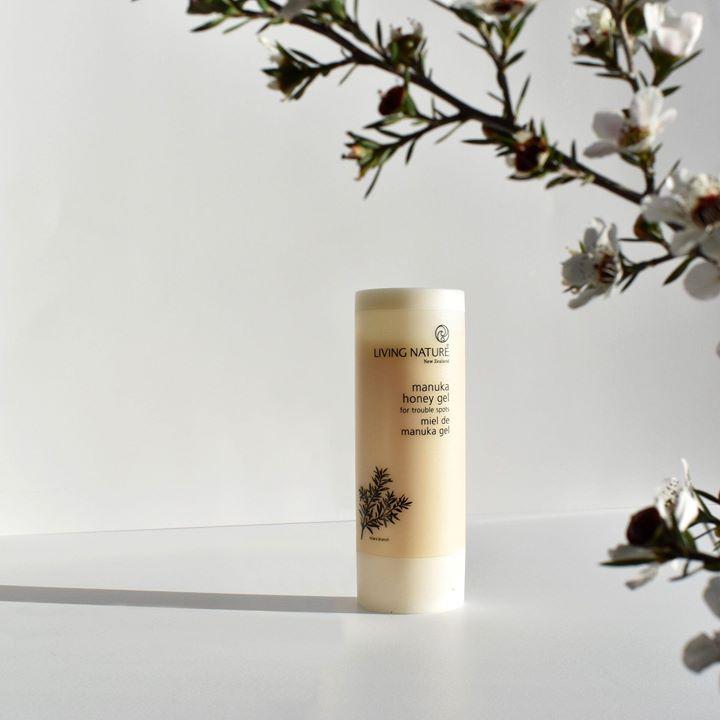 Gel trị mụn Living Nature Manuka Honey Gel 50ml