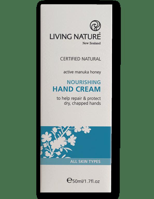 Kem dưỡng da tay Nourishing Hand Cream - Mỹ phẩm hữu cơ Living Nature.