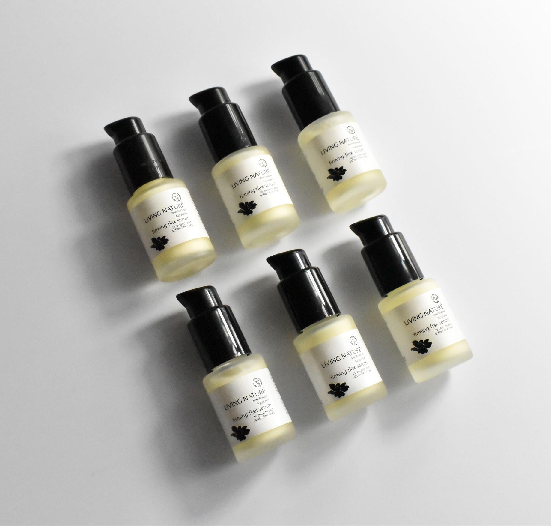 Living Nature Firming Flax Serum 2
