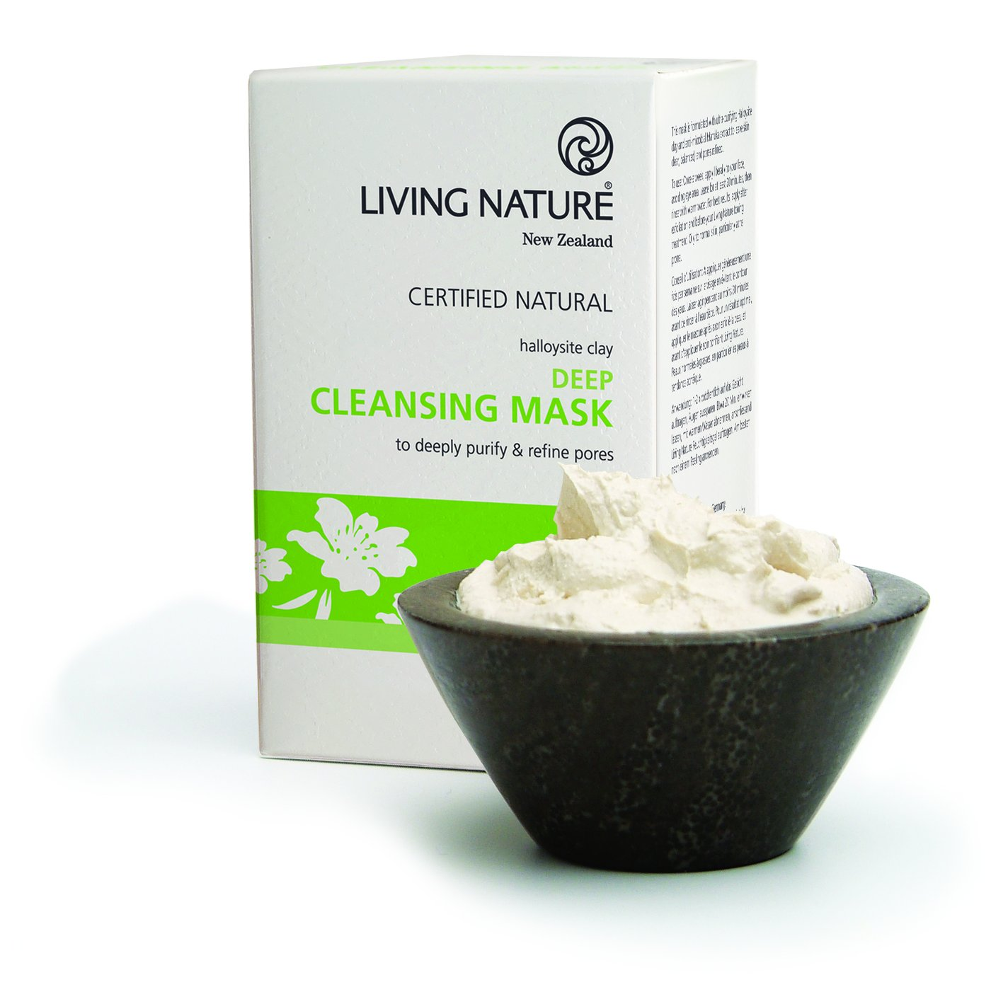 Mặt nạ đất sét Living Nature Deep Cleansing Mask 8