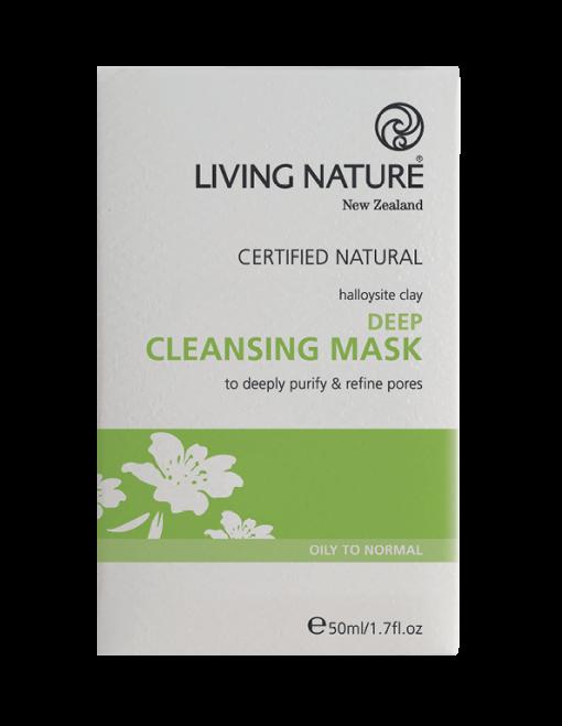 Mặt nạ sạch sâu Deep Cleansing Mask chính hãng Living Nature