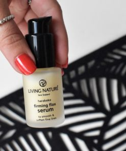 Cách dùng Living Nature Firming Flax Serum 13ml