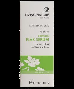 Serum chống lão hóa Living Nature Firming Flax Serum
