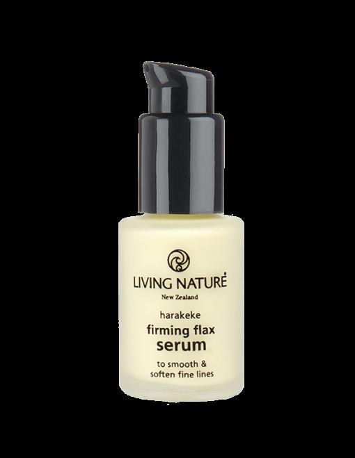 Serum chống lão hóa, săn da Firming Flax Serum chính hãng Living Nature