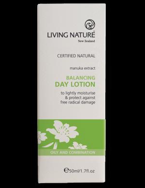 Lotion dưỡng ẩm ban ngày Balancing Day Lotion - Living Nature