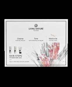 Bộ 3 dưỡng da khôSkin Steps To Enrich Dry Skin - Living Nature