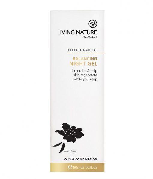 Gel dưỡng da Living Nature Balancing Night Gel 14