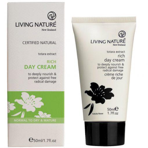 Kem dưỡng ẩm ban ngày Living Nature Rich Day Cream